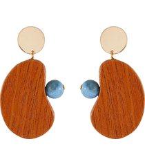 'butterfly' earrings