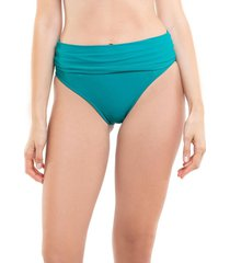 bikini calzón pin up doble uso verde samia