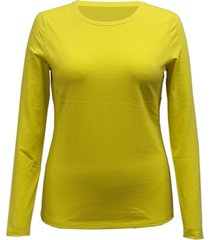 style & co long-sleeve top, created for macy's