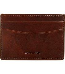 men's nordstrom marco burnished leather card case -