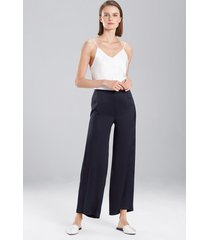 key pants sleepwear pajamas & loungewear, women's, 100% silk, size l, josie natori
