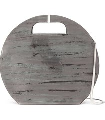 cecchi de rossi terra round shoulder bag - black