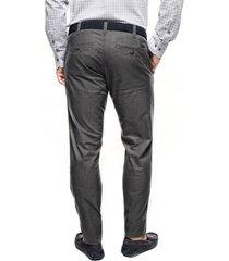 spodnie davos 214 grafit slim fit