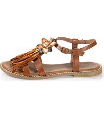 sandaletter alba moda konjak