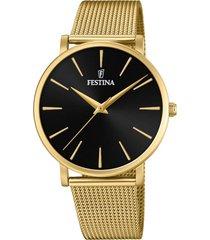 reloj boyfriend collection dorado festina