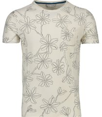 cast iron t-shirt crème geprint