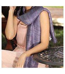 silk scarf, 'bold lily' (thailand)