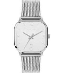 relógio touch unissex fino prata tw2035mrg/3b tw2035mrg/3b