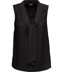 camicetta con fiocco (nero) - bodyflirt