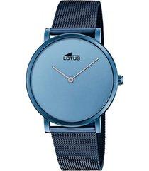 reloj 18775/ minimalist azul lotus