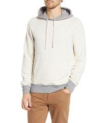 men's hartford contrast hooded sweatshirt
