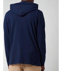 polo ralph lauren men's pop over hoodie - newport navy - xxl
