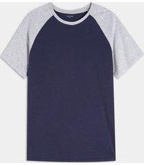 camisa azul-gris seven seven