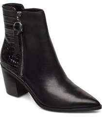 arolia shoes boots ankle boots ankle boots with heel svart aldo