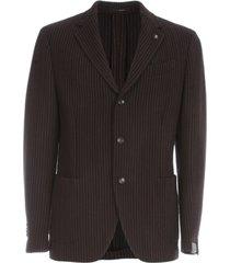 easy drop vertical pinstriped jacket