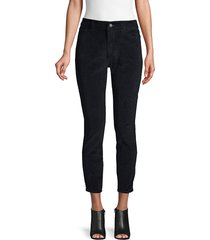 dl1961 premium denim women's high rise skinny pants - night sky - size 24 (0)