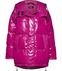 w-alla jacket gevoerd jack roze diesel women
