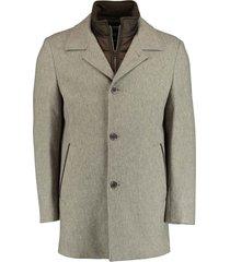bos bright blue geke coat 20301ge03bo/800 natural