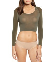 women's spanx arm tights(tm) opaque layering top