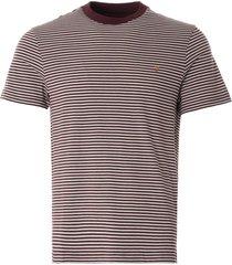 farah daytona t-shirt | farah red | f4kmb022-626