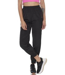 pantalon jogger nylon negro  corona