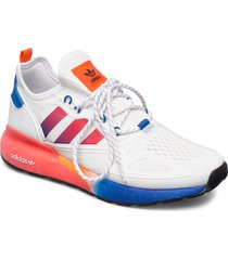 zx 2k boost låga sneakers vit adidas originals