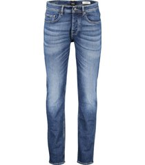 hugo boss orange jeans taber tapered fit blauw