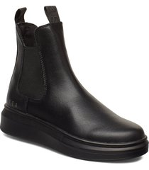 charlie high shoes chelsea boots svart svea