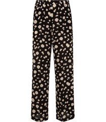 aspesi dotted straight trousers