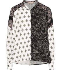 voluminous paisley print shirt
