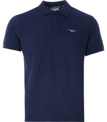ac36 presented by prada x north sails howick recycled piqué polo shirt | blue navy | 452015-802