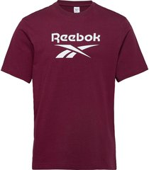 cl f vector tee t-shirts short-sleeved röd reebok classics