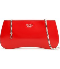 prada brushed calfskin sidonie clutch