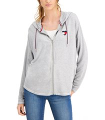 tommy hilfiger embroidered hoodie