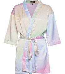 rainbow kimono morgonrock multi/mönstrad ow intimates