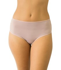 calcinha fio duplo cintura alta qtal lingerie básico alvorada