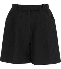 simone rocha embroidered sculpted shorts
