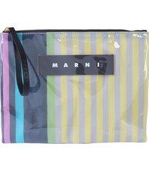 marni designer handbags, clutch with logo