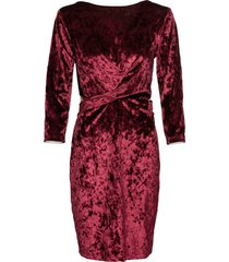 abito in velluto (rosso) - bodyflirt boutique