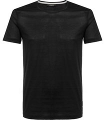 calvin klein jato merc single jersey black t-shirt k10k100979