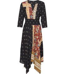 vest gelia jurk knielengte multi/patroon desigual