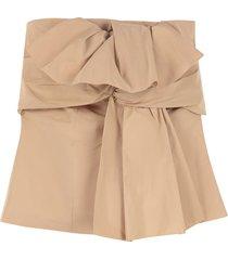 givenchy taffeta corset top
