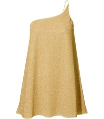 oseree lumiere one shoulder dress