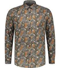 dstrezzed shirt casual print groen