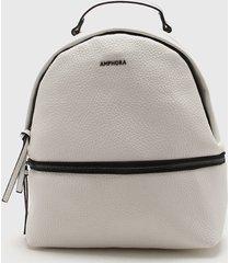 mochila blanca amphora ridia