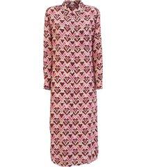 aspesi geometric-print dress