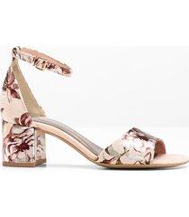sandali con tacco marco tozzi (rosa) - marco tozzi