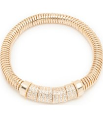 nine west boxed pave stretch bracelet