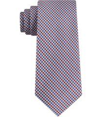tommy hilfiger men's bright tattersal tie