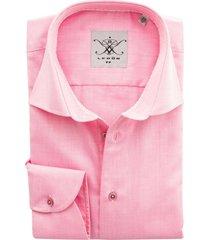 ledub tailored fit overhemd roze